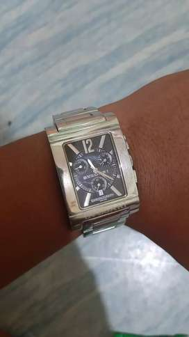 Bvulgari rettangolo chronograph