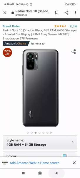 Mi note 10 brand new 3 day old