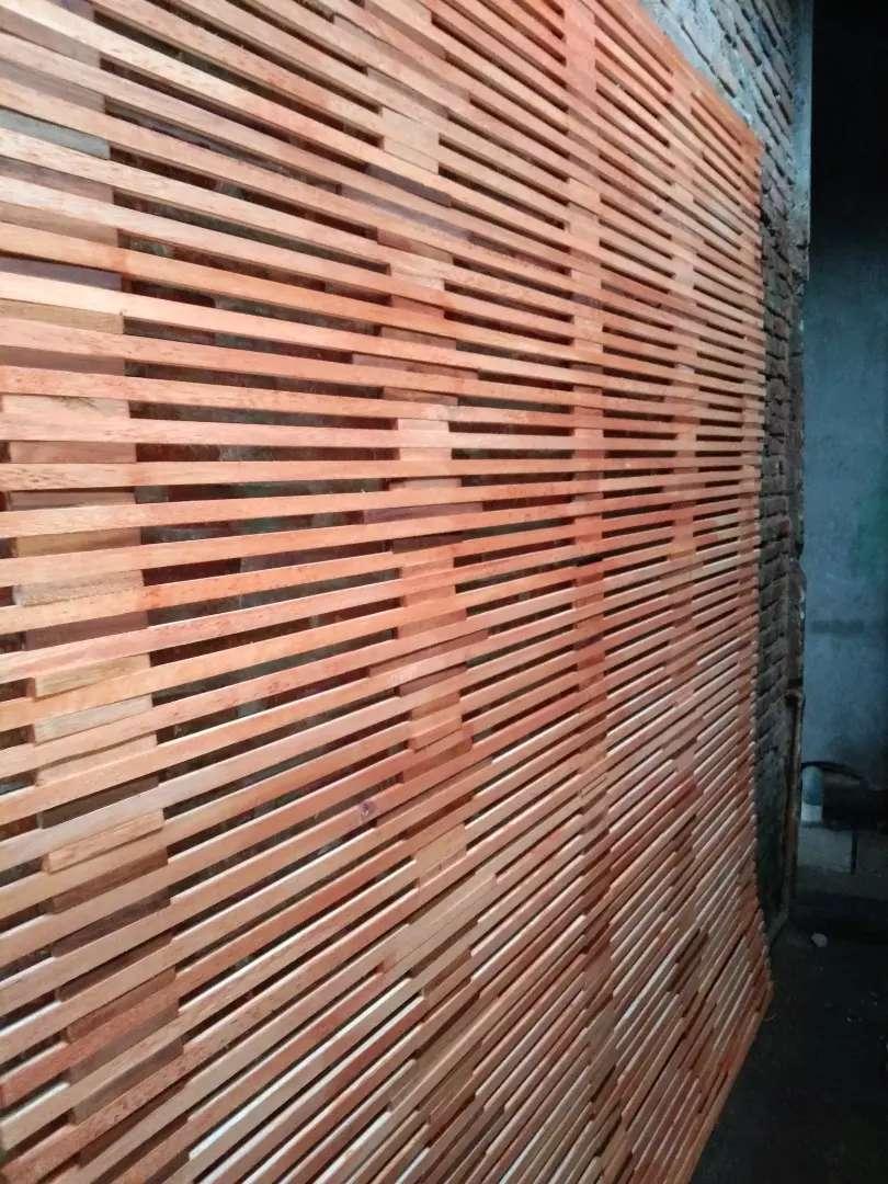 Jual tirai kayu dan tirai kulit bambu dan tikar rotan