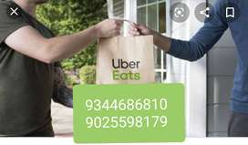 Openings for food delivery executives - UBER EATS