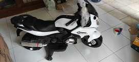 Motor Mainan Anak PMB M688 / Motor Mainan Ninja Pakai Aki Bisa Dinaiki