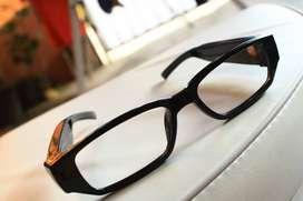 spy cam hd720 video camera eyewear kacamata bening kamera tersembunyi