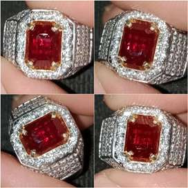 Natural Red Ruby No Heat 2.38ct