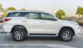 Toyota Fortuner for wedding purpose