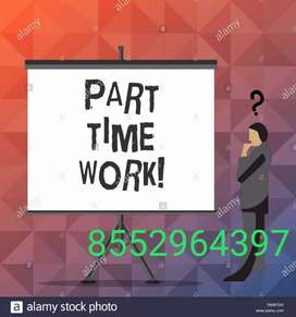 Just Ad posting and telecalling online part time jobs