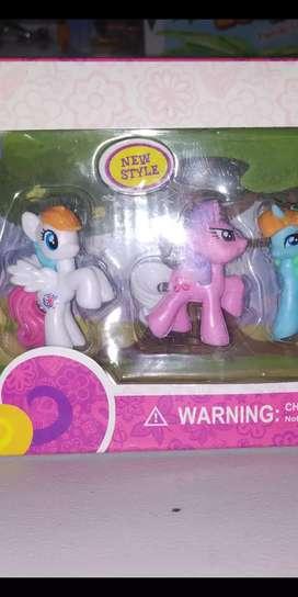 mainan anak kuda poni baru