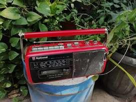 Mini boombox radio tape jadul turntable