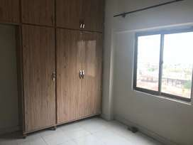 804 sq ft 2 bed 2nd floor corner apartment Defence Residency DHA2 for