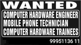 Need Computer technician/trainees