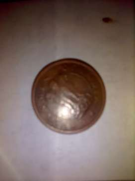 Old one Paisa coin
