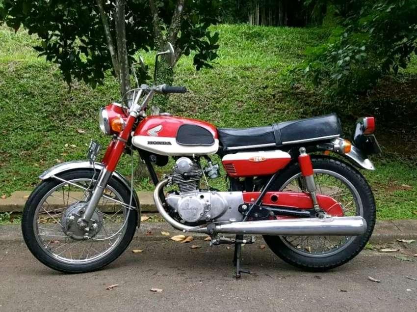 Pajak ON, Honda CB 125 Twin Full paper, plat B DKI, Collector item 0