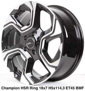 order velg CHAMPION HSR R18X75 H5X114,3 ET45 BMF