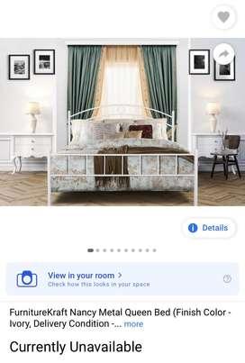 Bed queen size