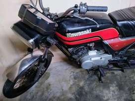 Kawasaki GTO 125 running condition only pasport book available