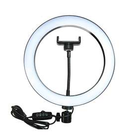 20CM LED STUDIO CAMERA RING LIGHT (WITH HOLDER)