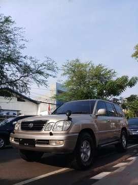 2001 Toyota Land Cruiser Cygnus