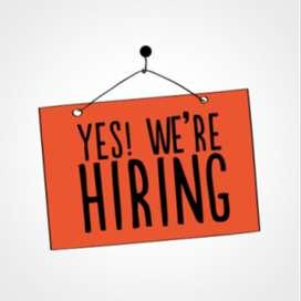 Job For Supervisor & Helper Job