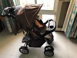 Graco Pram and complete travel system