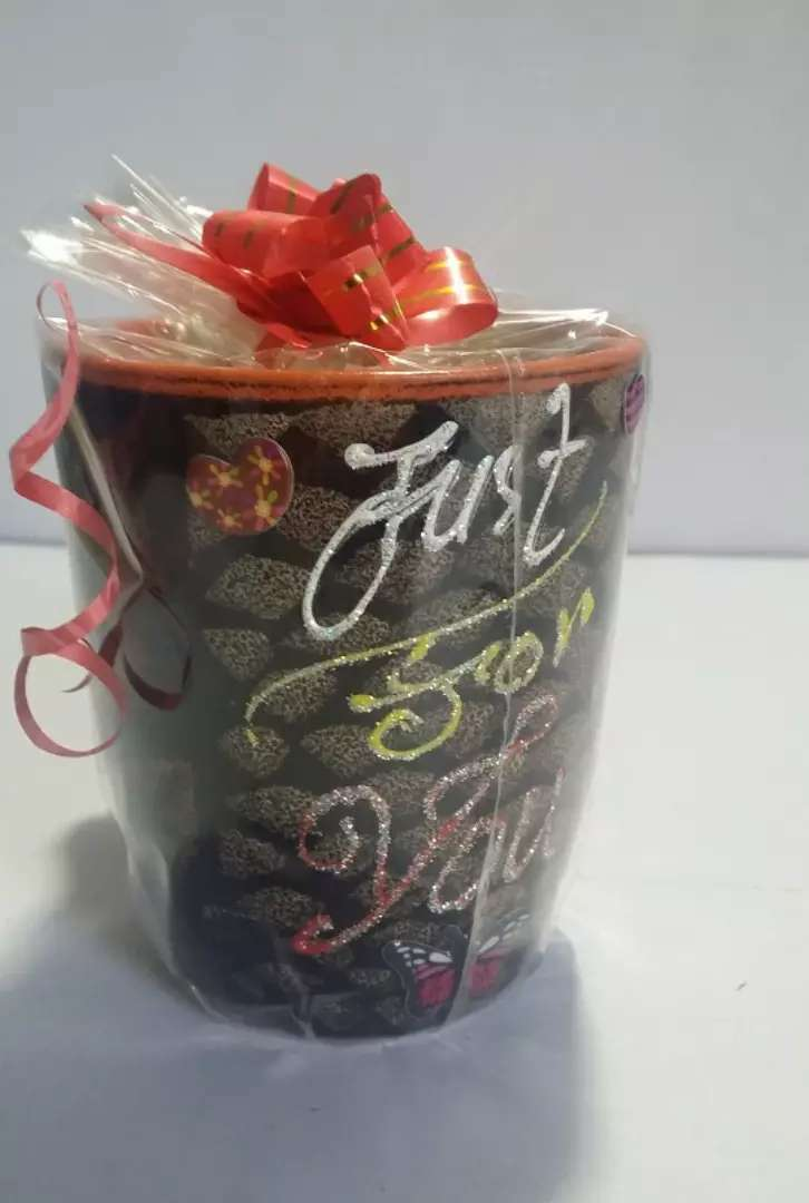 Brand new unused Just for You Mug - Gift Pack
