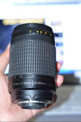 lensa nikkor 70-300mm murah
