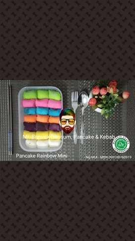 Pancake Durian Rainbow
