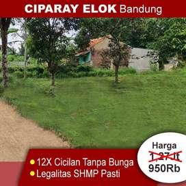 Kavling Tanah Murah, Bandung Ciparay, 900Ribuan/m2
