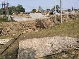 Four katha road side land
