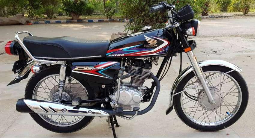Honda CG 125 Black 2019 Registered in August 2019 0