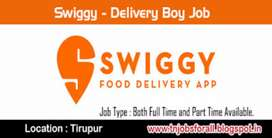 want delivery boy at swiggy