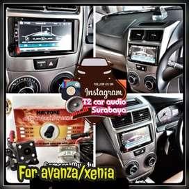 2din android link led 7inc for AVANZA/XENIA harga mumer+camera hd