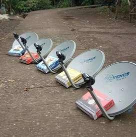 Antena tv terbaik tanpa bulanan parabola jernih sedati