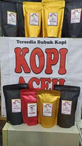 Kopi Aceh gayo bubuk kopi