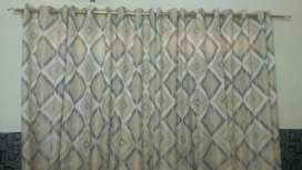 Curtains parda 6 piece