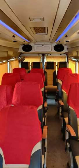 Tempo traveller 17seater AC push back 20rs km