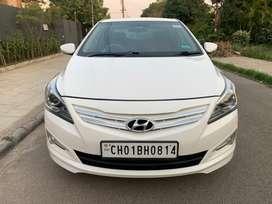 Hyundai Verna 2015-2016 1.6 CRDi SX, 2016, Diesel