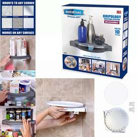 Insta Hang Rotating Shelf For Kitchen and Bathroom