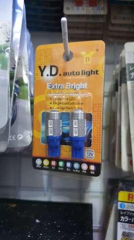 Lampu led t10 mercy terang 1psg