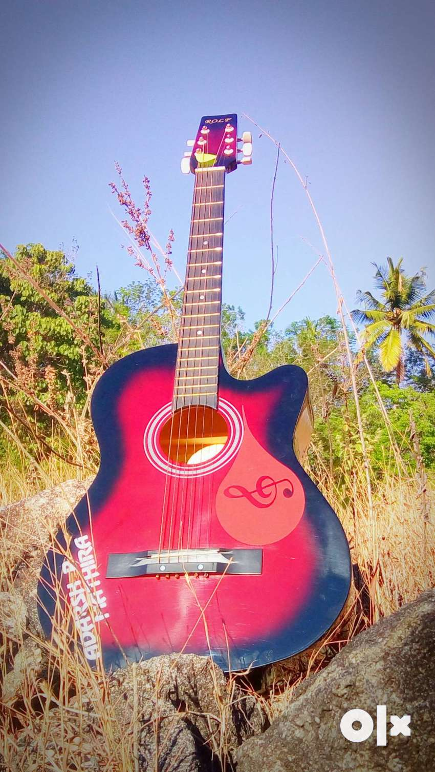 Aquistic guitar 0
