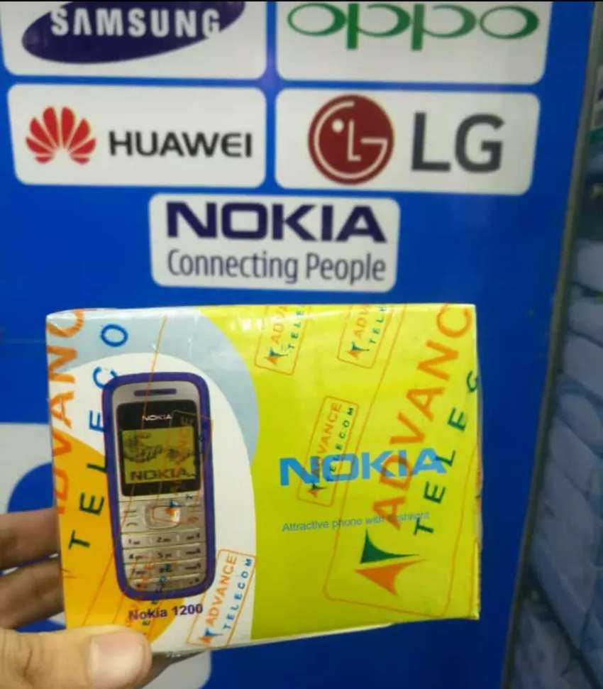 Nokia 1200 Pin Pack Mobiles 0