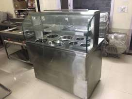 Manufacturer of Stainless Steel Golgappa and chaat Counter