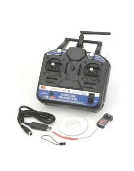 Flysky CT6b transmitter and receiver