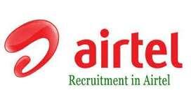 Airtel process hiring 4 KYC/Data Entry/CCE /Hindi BPO Voice/Non Voice