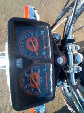Road prince 125 with double kit 2200 km uses only