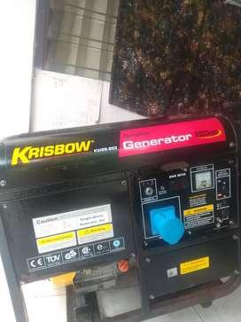 Jual genset bekas krisbow 8000watt