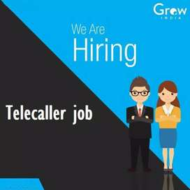 Required telecaller for well reputed company