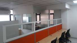 We have furnished and unfurnished office spaces available from 1 works