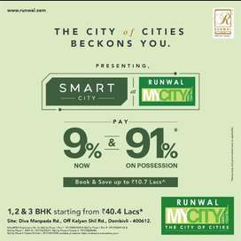 1bhk for sale in Runwal my city