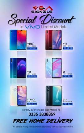 Vivo Y91D  Box Pack Pies With One Year Warranty