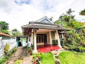Rumah Villa Kaliurang Murah Tepi Jalan Kaliurang Km.23 Tanah Luas.