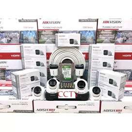 Terbaru paket kamera CCTV murah Kumplit COD free instalasi
